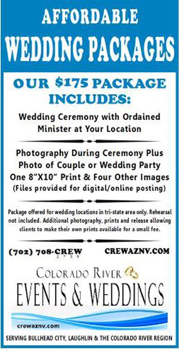 $175 Wedding Package Description