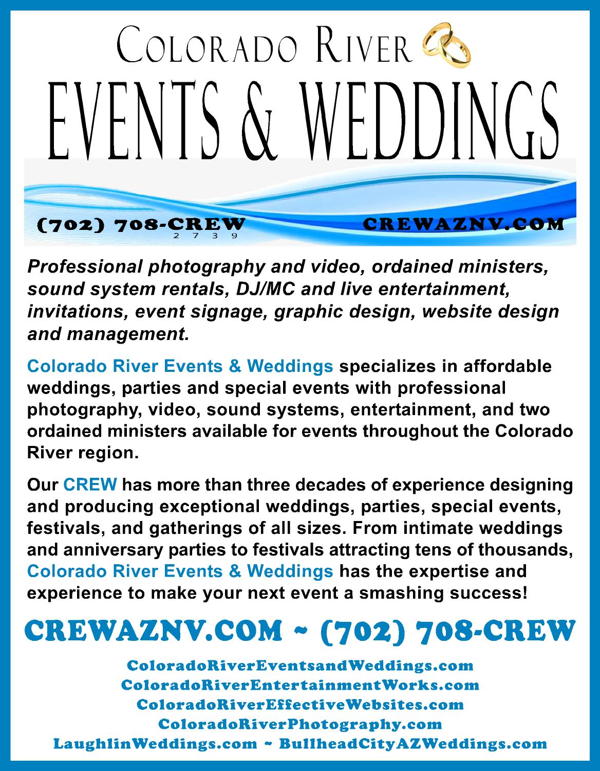 CREW's Many Services Listed Here